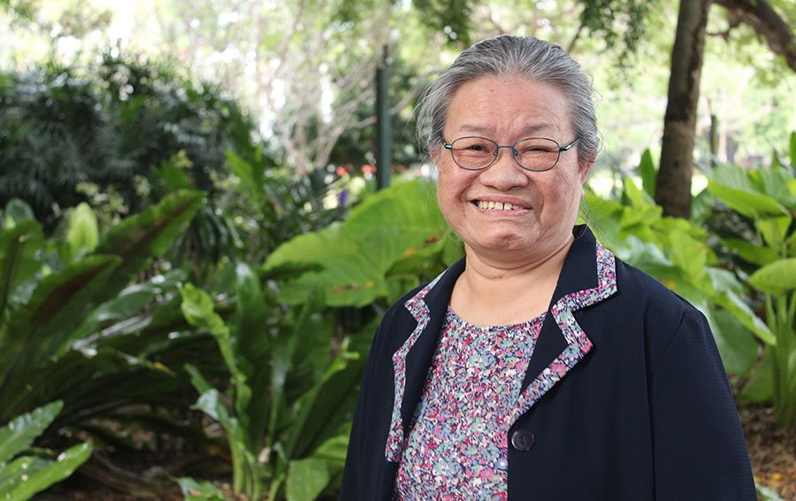 Esther Arulogun is a Carinity aged care registered nurse.